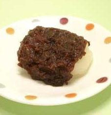 あんこ餅(切り餅1個)175kcal