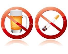 ・除菌中は飲酒や喫煙は避けてください!アルコールやタバコは胃酸分泌を多くさせて、除菌率が低下します。