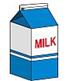 牛乳 200ml