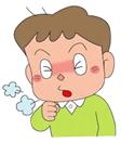 気管支喘息は空気の通り道である気道に、慢性の炎症がおこってしまい空気の流れが妨げられるという病気です。気管支喘息の症状としては、発作性の咳、喘鳴症状や息苦しいなどの呼吸困難などが主な症状で、発作が何度もくり返されるのが主な特徴です。近年では呼吸困難を伴わない「咳喘息」も増えてきています。気管支喘息の発作は、夜半から明け方に起こり、日中はほとんど起こらないのが特徴です。症状が起きていない時でも気管支の粘膜には炎症が起きていて、少しの刺激でも敏感に反応してしまい発作が起きることになります。
