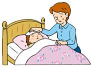 大人がRSウイルスに感染しても、軽い鼻かぜ程度でおさまることがほとんどです。赤ちゃんが感染した場合も、通常は38~39度の発熱や鼻水、せきなど普通のかぜの症状が出て、8~15日くらいで治ります。ところが症状が悪化すると、細気管支炎や肺炎を引き起こすこともあります。はじめてRSウイルスに感染した乳幼児の25~40%に細気管支炎・肺炎の兆候が見られ、0.5~2%の乳幼児が呼吸困難などにより入院しています。入院が必要となるお子さんの大部分は、生後6ヵ月未満の赤ちゃんです。早産児は、早く産まれてきた分、ママから受け取る抗体も少なく、また呼吸器の機能が未発達なため、重症化する危険性が高くなります。生まれつき呼吸器に病気を持っている赤ちゃんも、同様に注意が必要です。