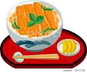 「カツ丼(塩分約4.5g)」をトンカツ定食に代えて、 自分で塩分を調整してみましょう!