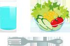 過剰な痩せ願望から野菜ばかり食べ、炭水化物、たんぱく質が不足。